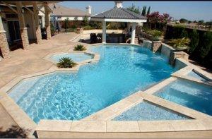 San Francisco Bay Area Custom Pool Located In Danville